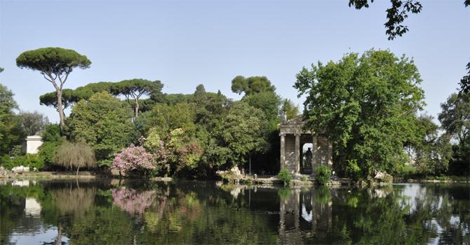 Giardino del Lago di Villa Borghese