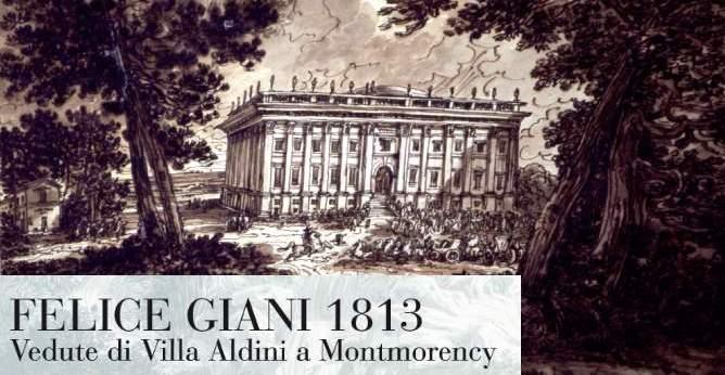 Vedute di villa aldini a montmorency with disegni di ville for Disegni di ville