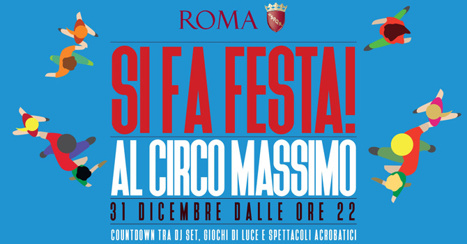 Si fa festa al Circo Massimo