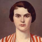 Francesco Trombadori, Ritratto in Rosso, 1930 ca., olio su tela, Roma