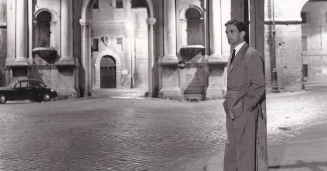 Agenzia Dufoto Pier Paolo Pasolini, Roma, luglio 1960_Courtesy Collezione Giuseppe Garrera