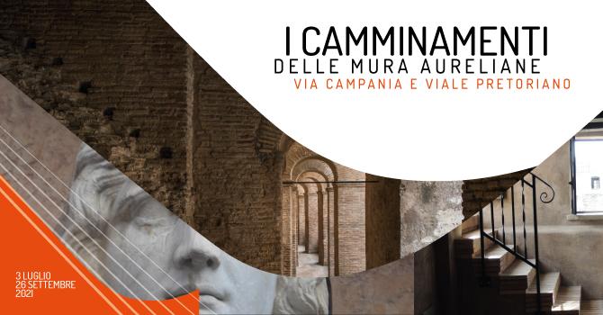 I camminamenti delle Mura Aureliane